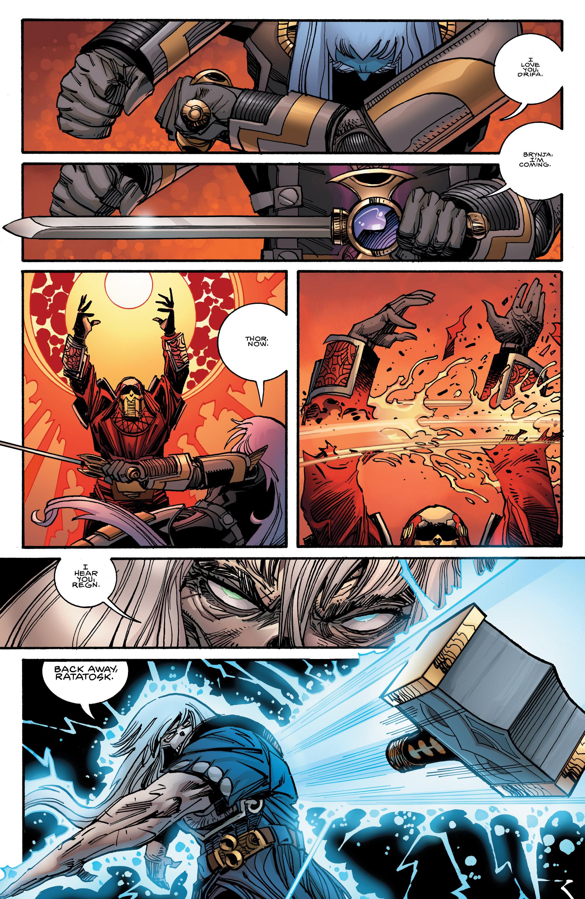 Read online Ragnarok comic -  Issue #12 - 7