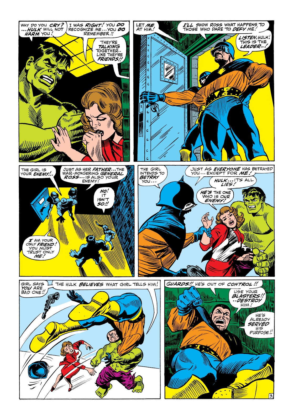Read online Marvel Masterworks: The Incredible Hulk comic -  Issue # TPB 3 (Part 3) - 19