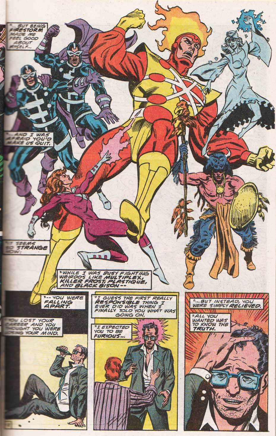 Firestorm, the Nuclear Man Issue #100 #36 - English 13