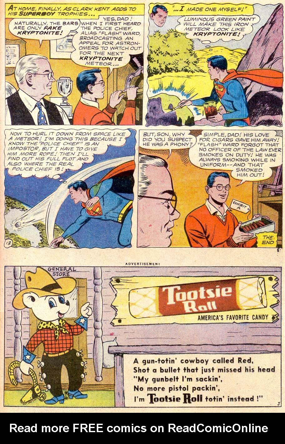 Read online Adventure Comics (1938) comic -  Issue #256 - 15