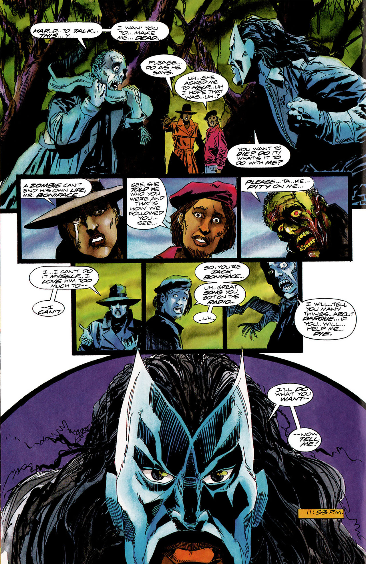 Read online Shadowman (1992) comic -  Issue #12 - 12