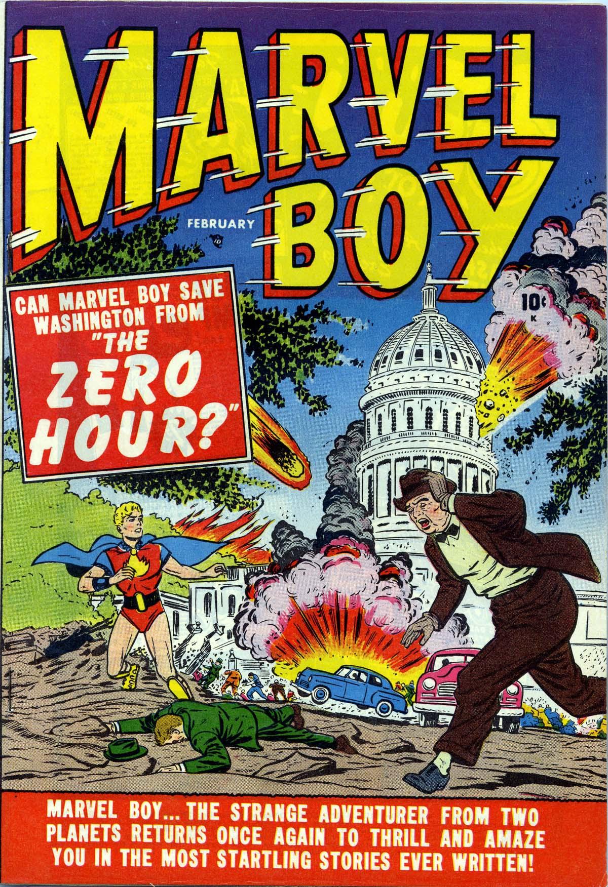Read online Marvel Boy (1950) comic -  Issue #2 - 1