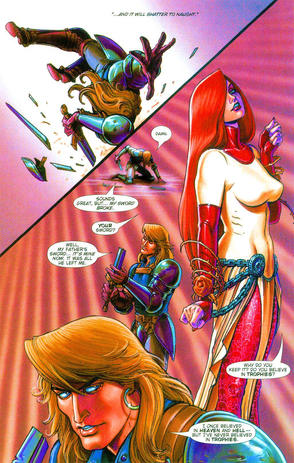 Read online Dawn: Three Tiers comic -  Issue #3 - 5