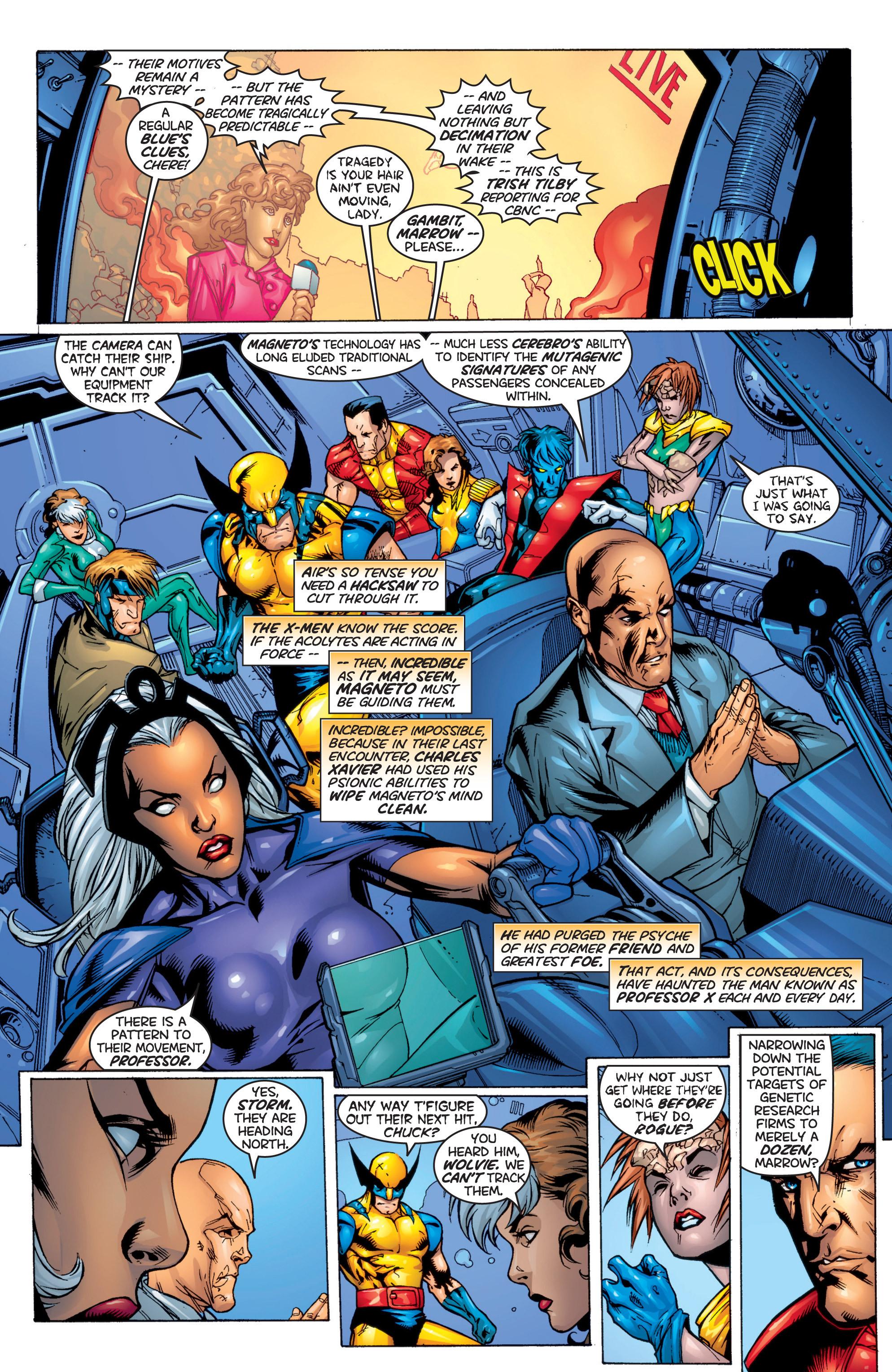 Read online Uncanny X-Men (1963) comic -  Issue #366 - 4
