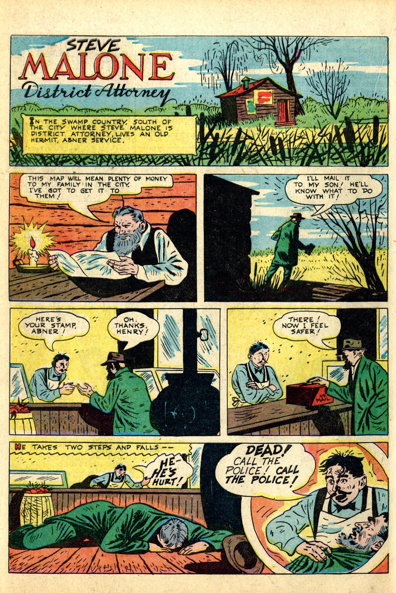 Read online Detective Comics (1937) comic -  Issue #50 - 52
