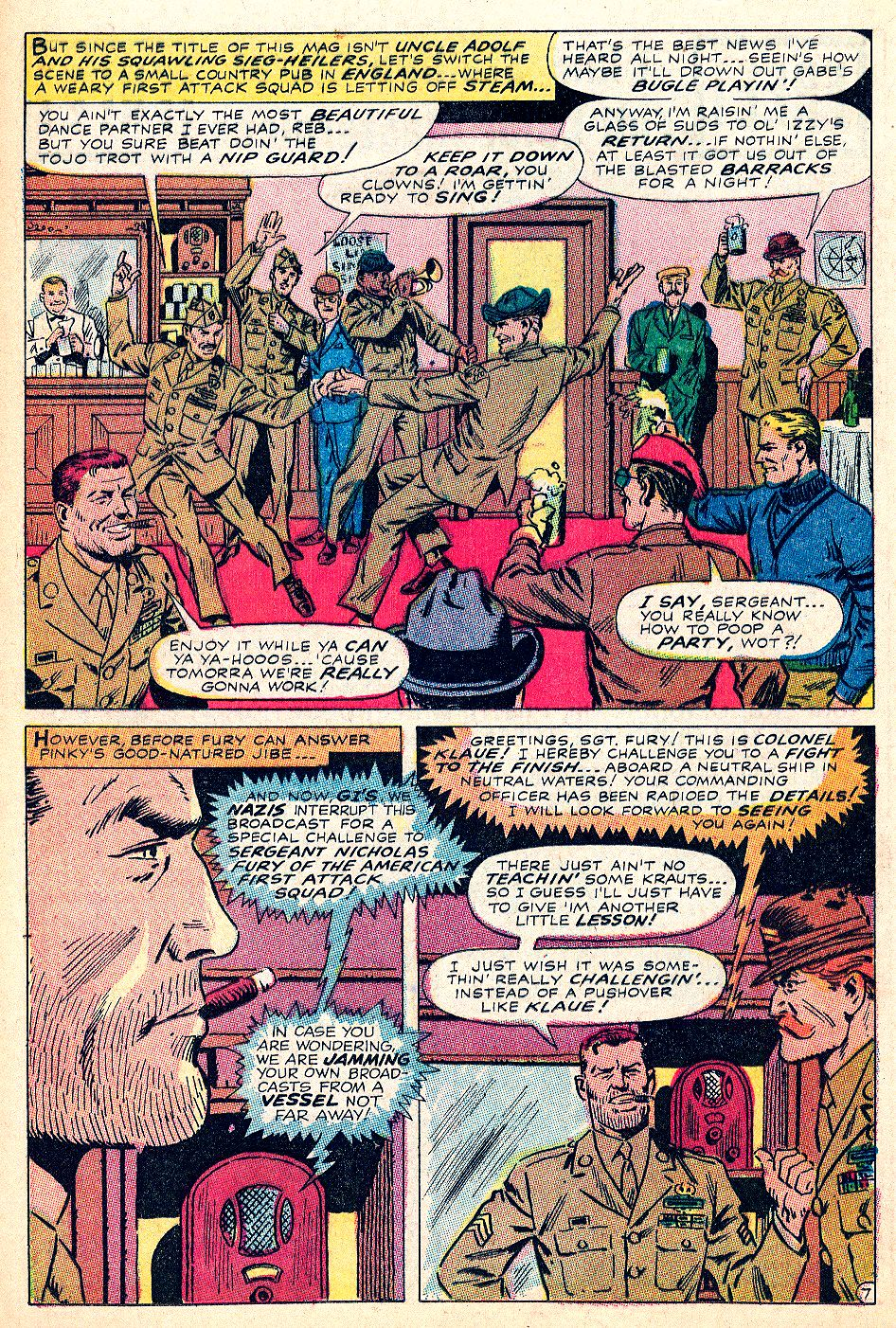 Read online Sgt. Fury comic -  Issue #59 - 12
