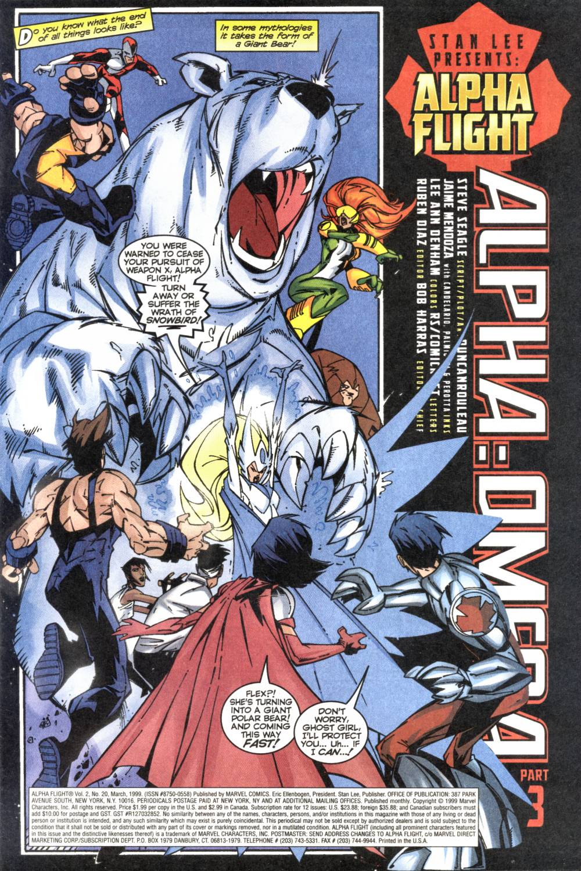 Read online Alpha Flight (1997) comic -  Issue #20 - 2