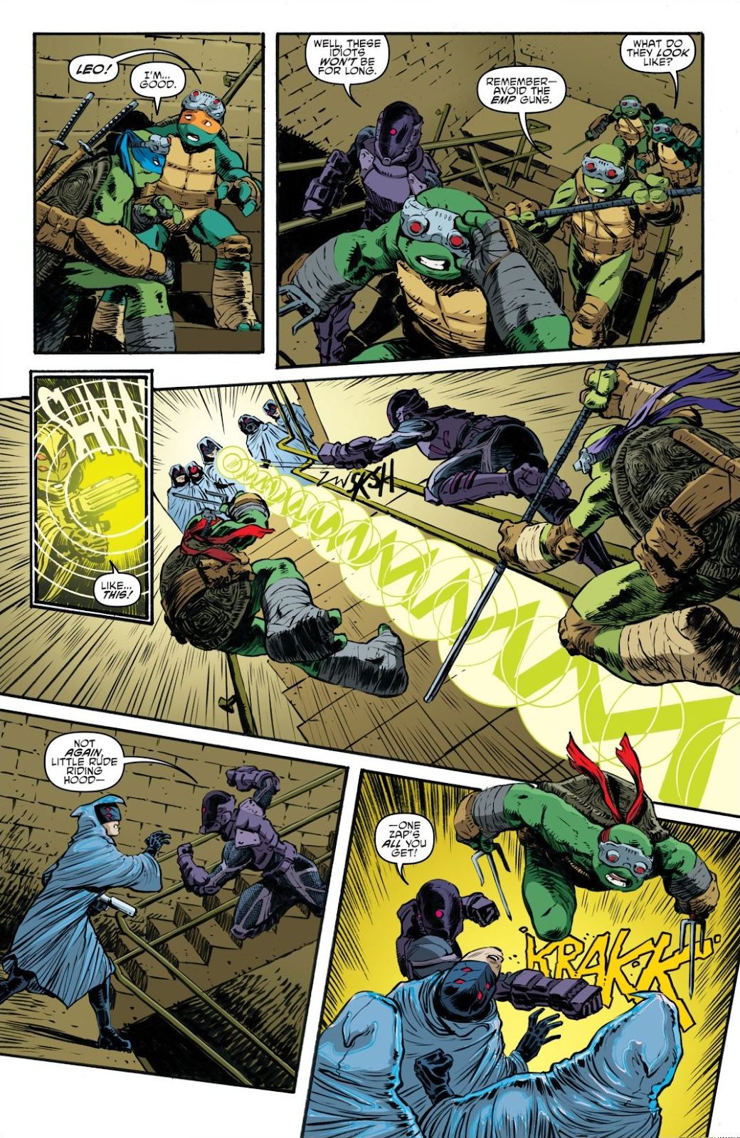 Read online Teenage Mutant Ninja Turtles: The IDW Collection comic -  Issue # TPB 7 (Part 3) - 103