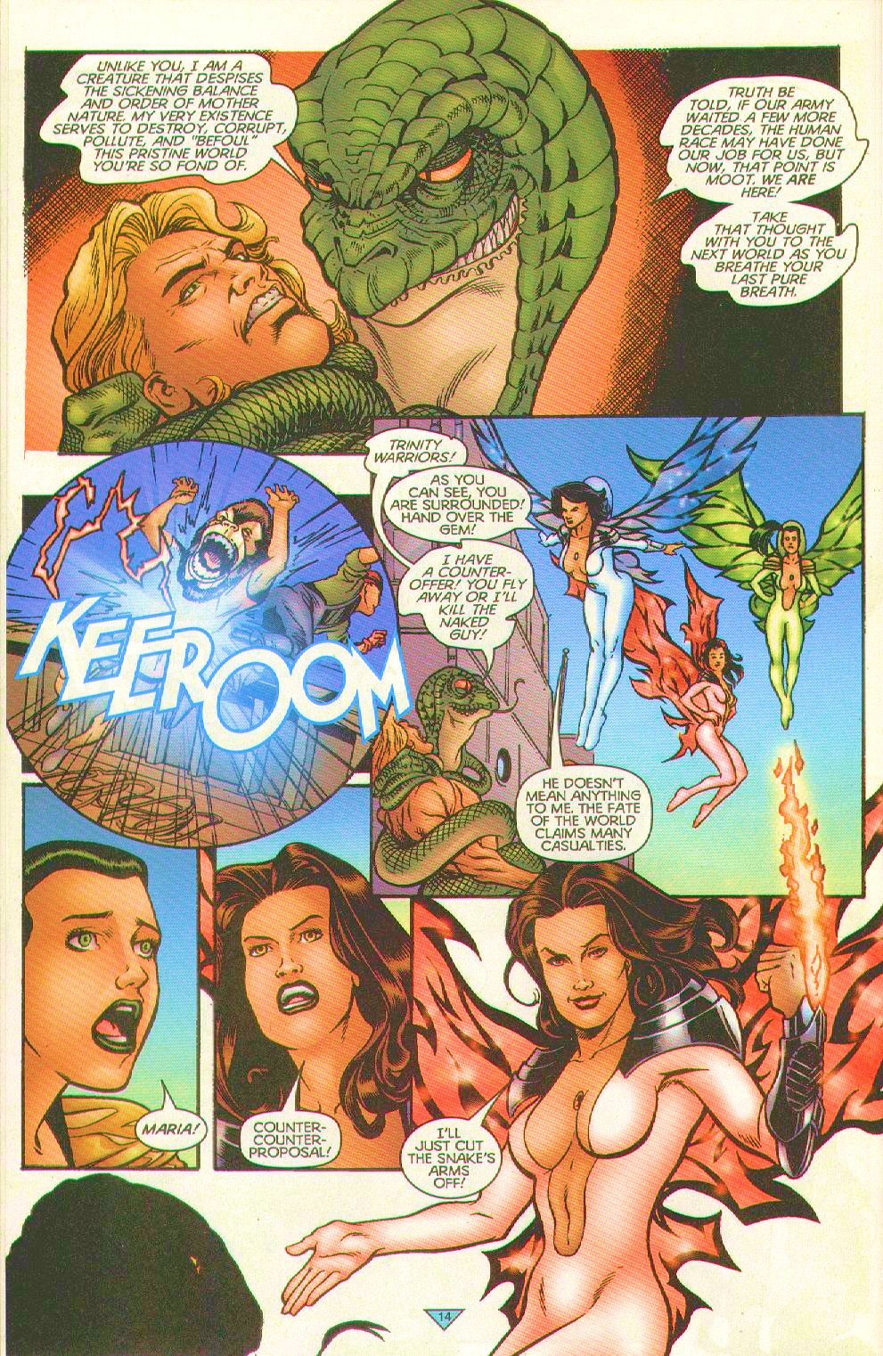 Read online Trinity Angels comic -  Issue #8 - 14
