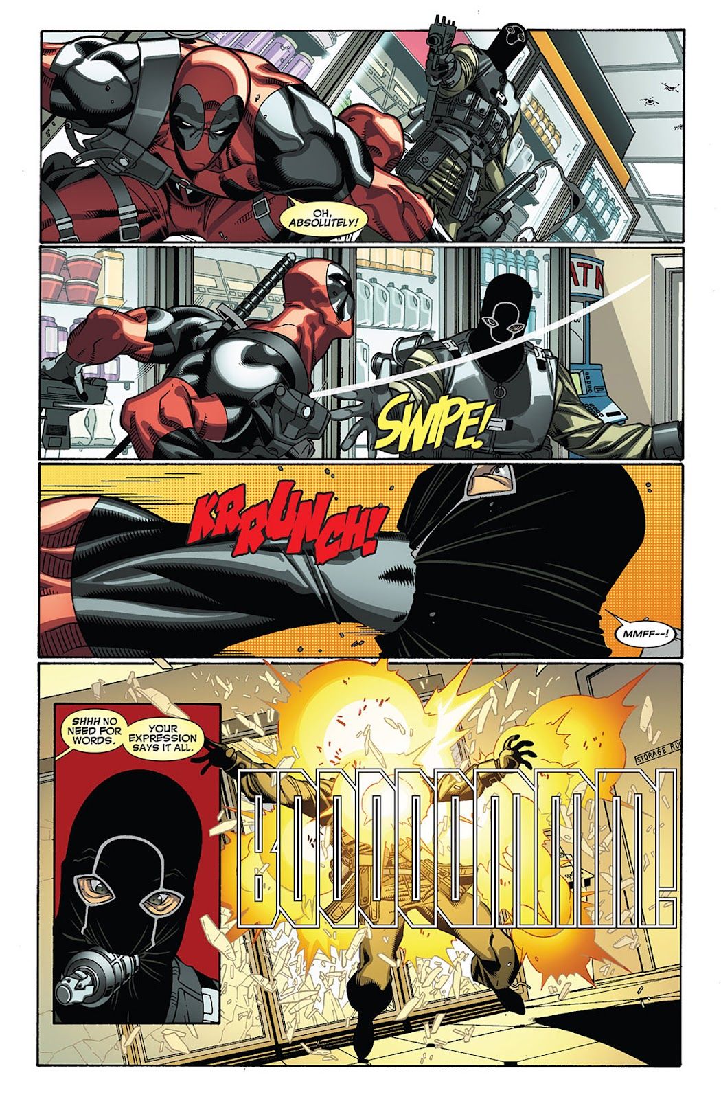 Read online Deadpool (2008) comic -  Issue #27 - 8