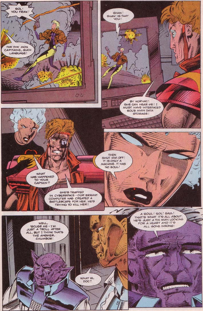 Read online Cyberspace 3000 comic -  Issue #5 - 13