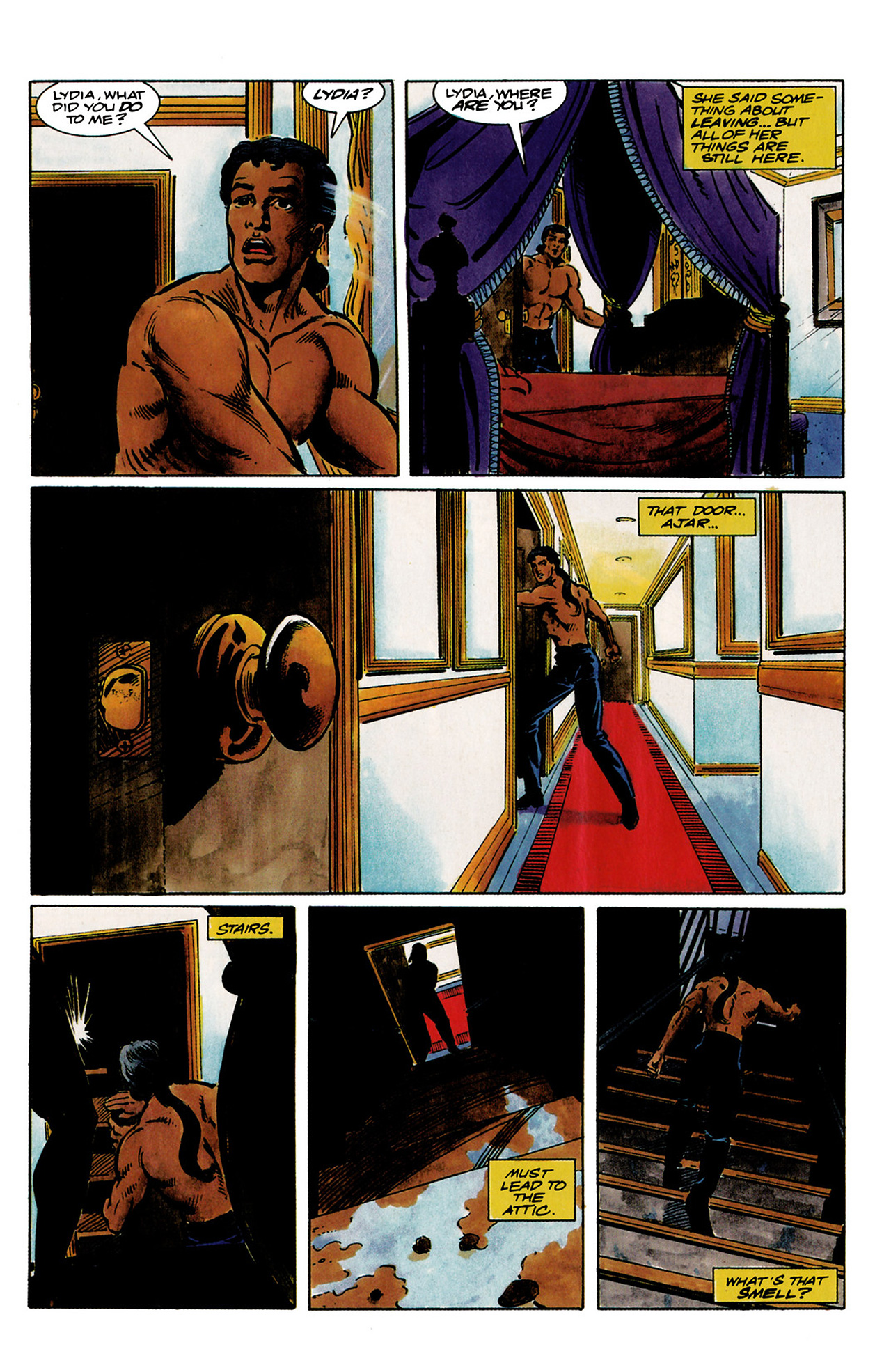 Read online Shadowman (1992) comic -  Issue #1 - 13