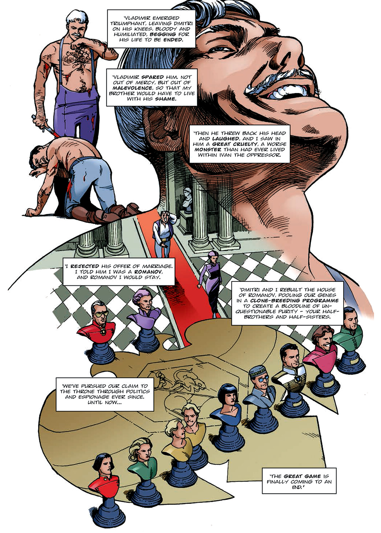Read online Nikolai Dante comic -  Issue # TPB 4 - 142
