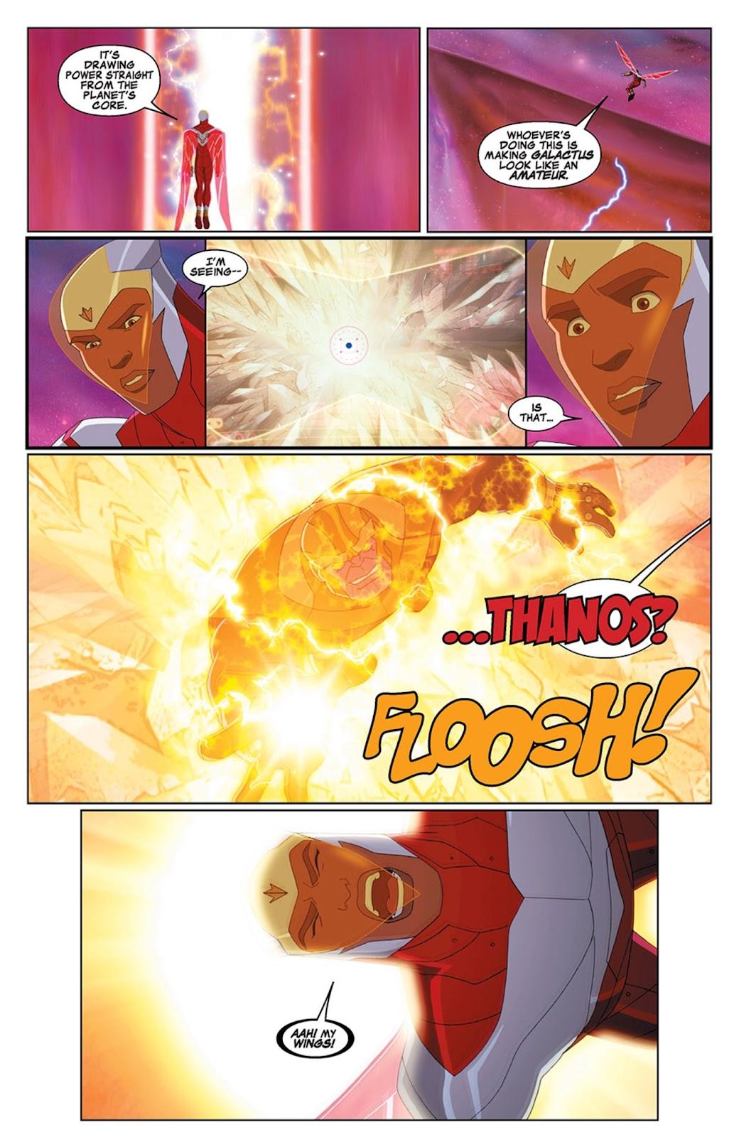 Read online Marvel Universe Avengers Assemble Season 2 comic -  Issue #15 - 11