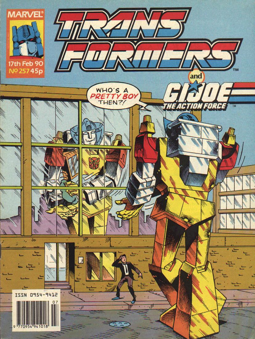 The Transformers (UK) 257 Page 1