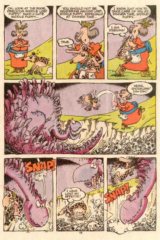 Read online Sergio Aragonés Groo the Wanderer comic -  Issue #45 - 19