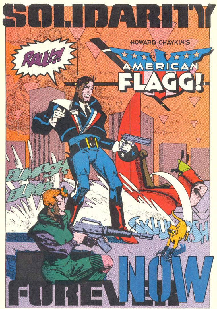 Read online American Flagg! comic -  Issue #10 - 8