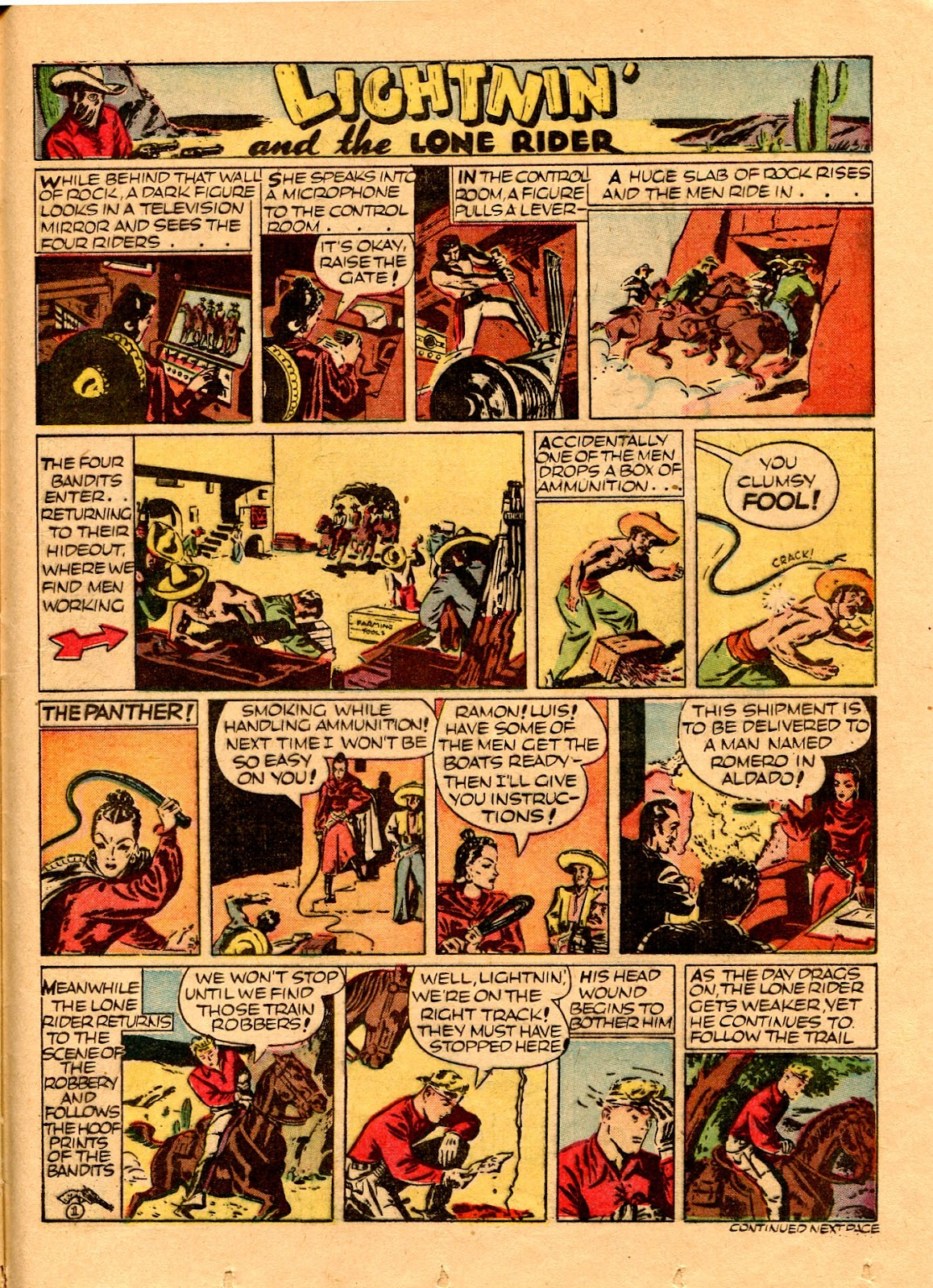 Read online Famous Funnies comic -  Issue #67 - 48