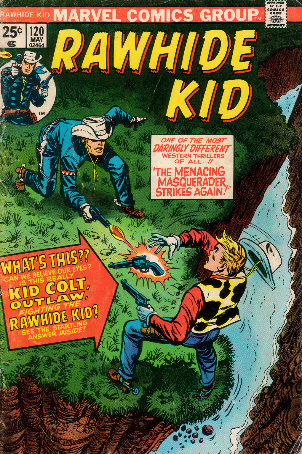 The Rawhide Kid (1955) issue 120 - Page 1