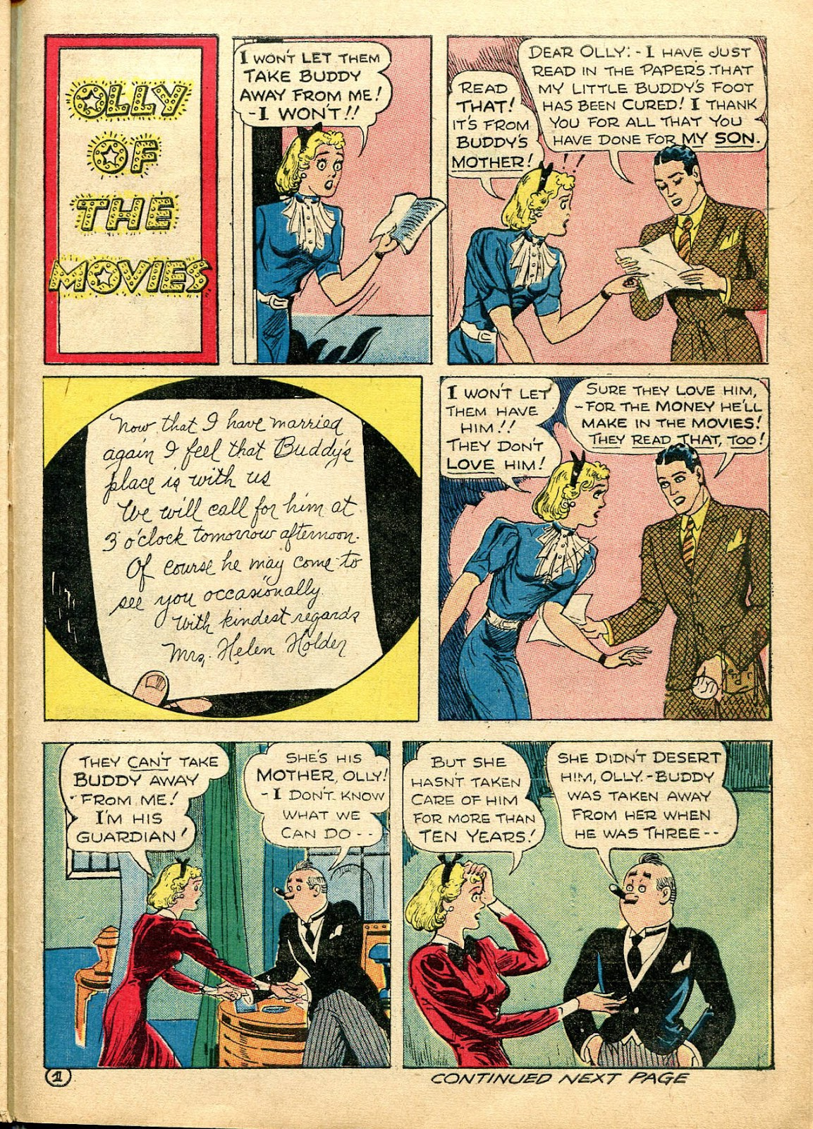 Read online Famous Funnies comic -  Issue #110 - 47