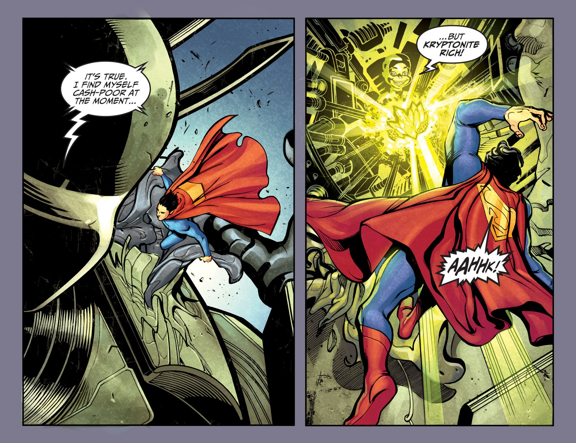 Read online Adventures of Superman [I] comic -  Issue #25 - 16