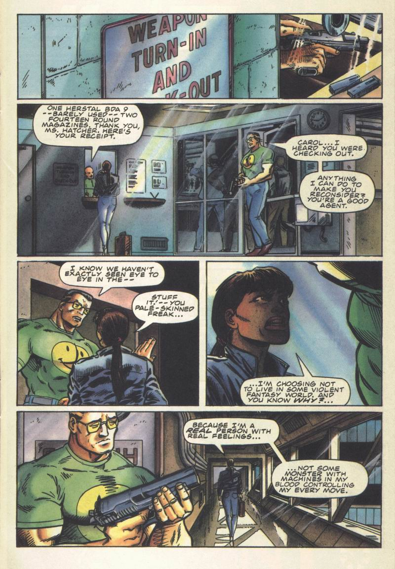Read online Secret Weapons comic -  Issue #14 - 10