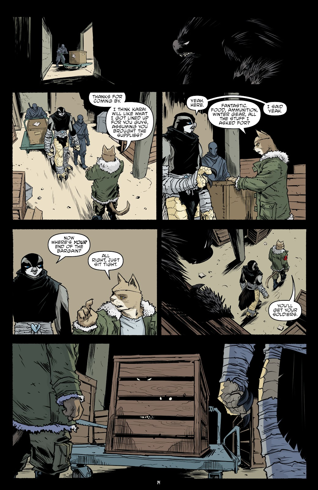 Read online Teenage Mutant Ninja Turtles (2011) comic -  Issue #102 - 16