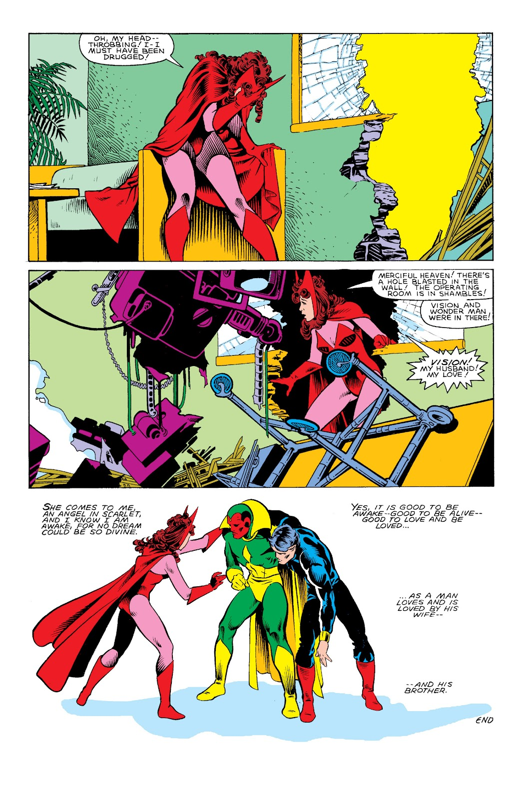 The Vision and the Scarlet Witch (1982) issue 3 - Page 23