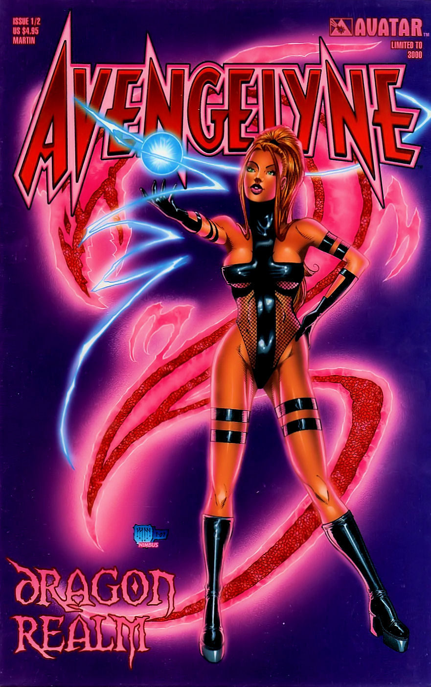 Read online Avengelyne: Dragon Realm comic -  Issue #0.5 - 2