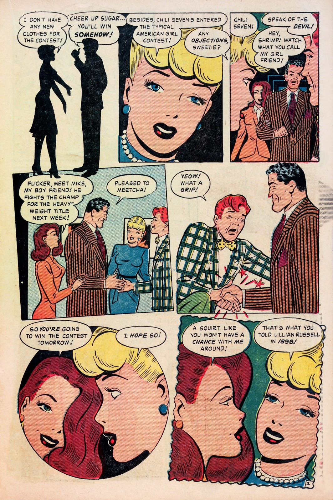 Read online Comedy Comics (1948) comic -  Issue #1 - 13