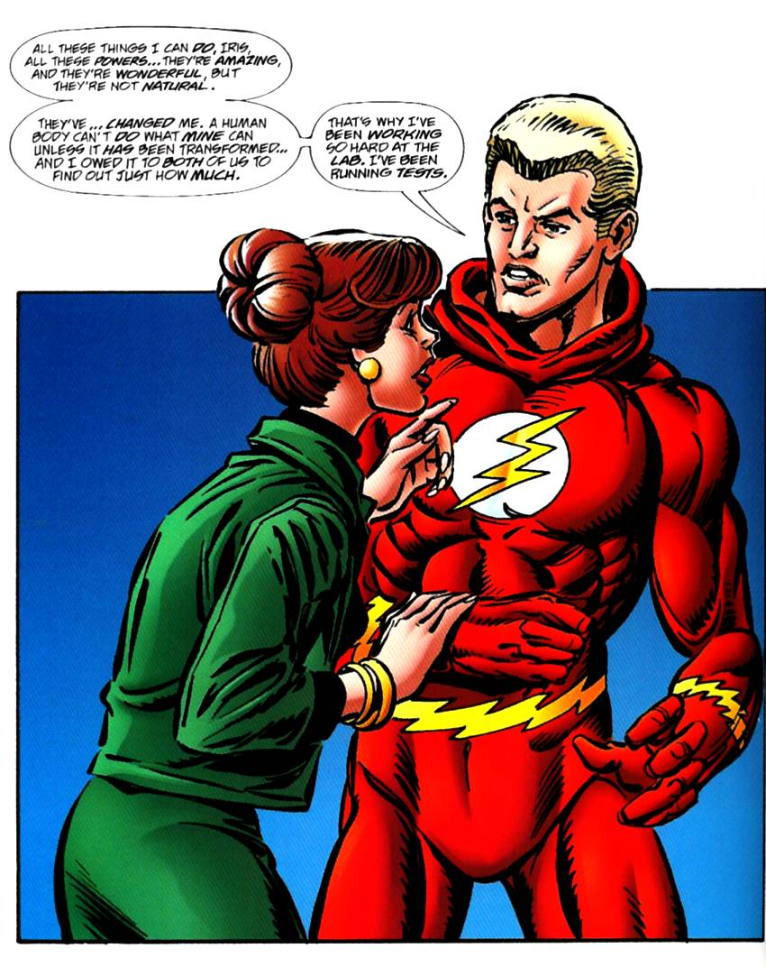 Read online The Life Story of the Flash comic -  Issue # Full - 58