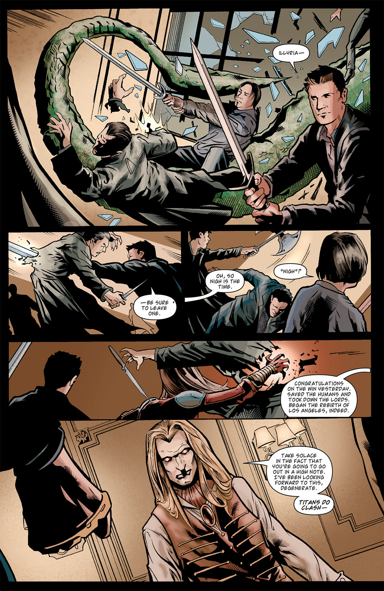 Read online Angel: After The Fall comic -  Issue #10 - 13