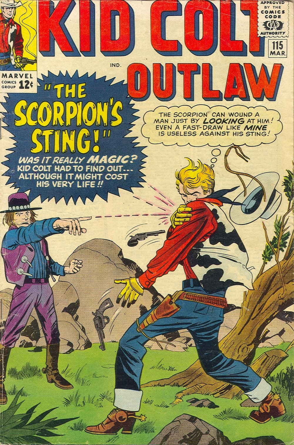 Kid Colt Outlaw issue 115 - Page 1