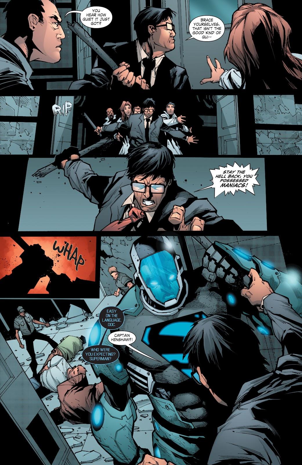 Read online Smallville Season 11 [II] comic -  Issue # TPB 8 - 95