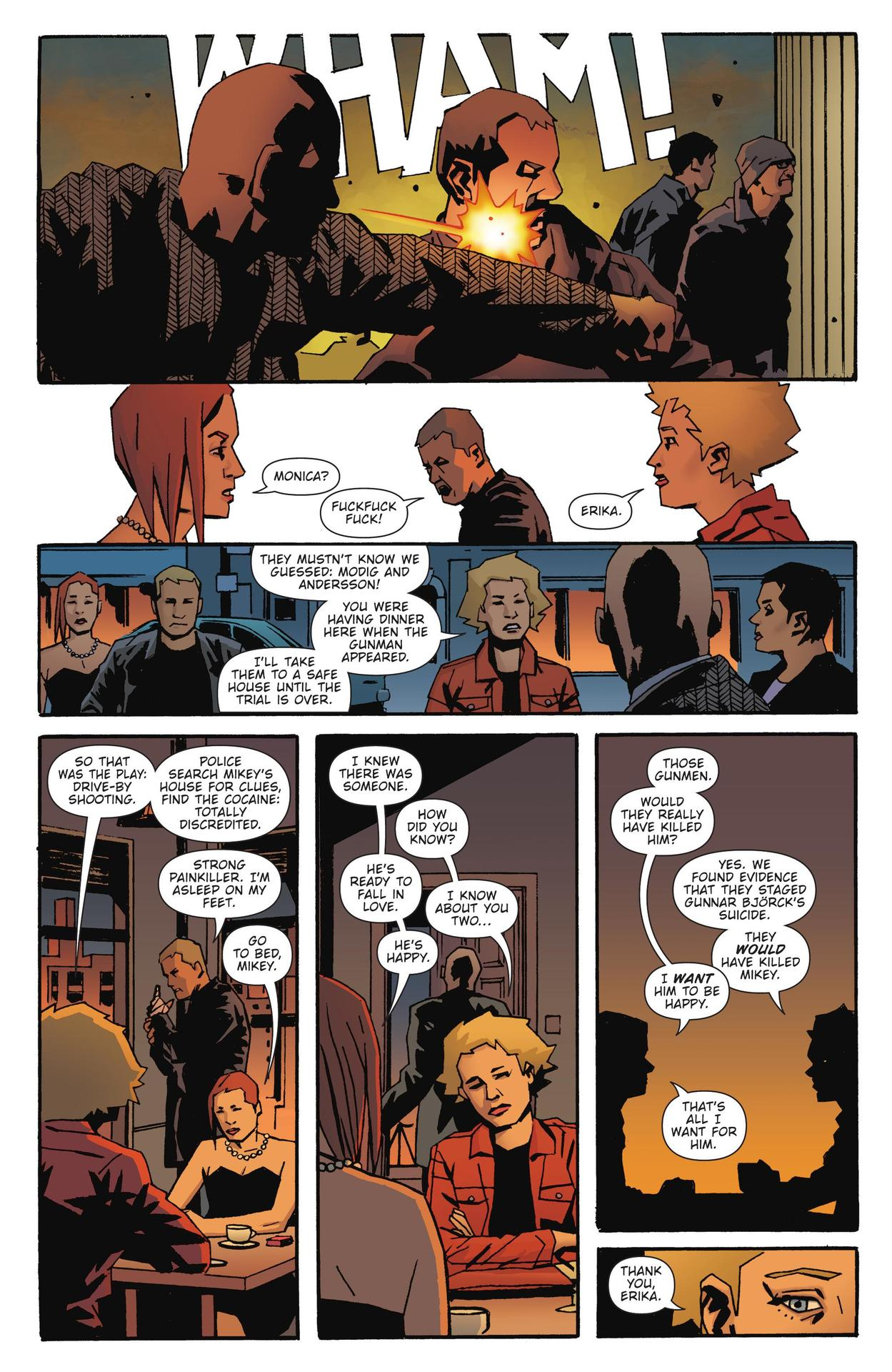 Read online The Girl Who Kicked The Hornet's Nest comic -  Issue # TPB - 208
