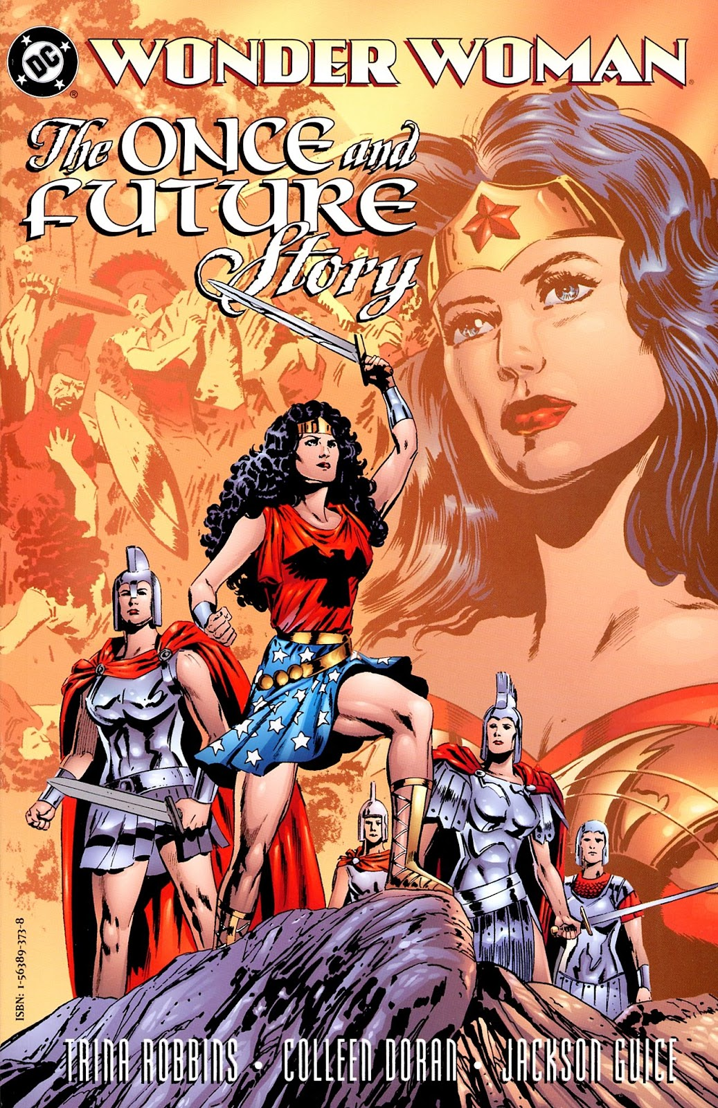 Wonder Woman: The Once and Future Story issue Full - Page 1