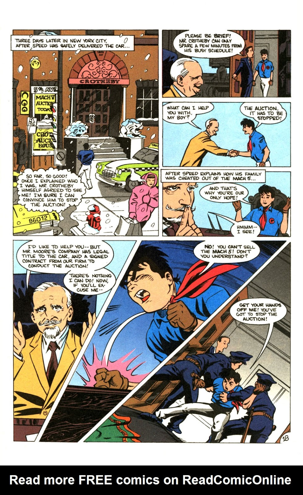 Speed Racer (1987) issue 30 - Page 23