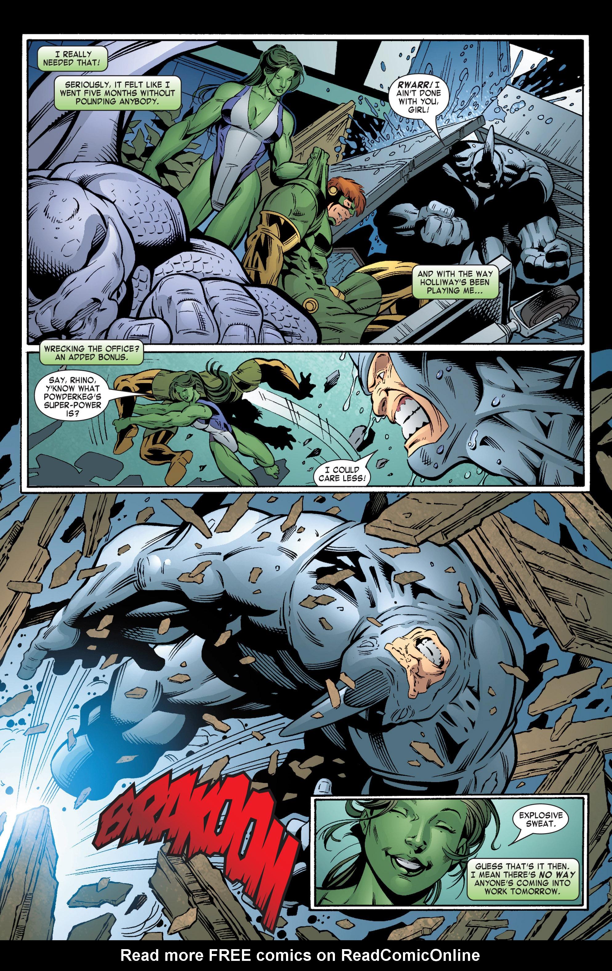 Read online She-Hulk (2004) comic -  Issue #6 - 21