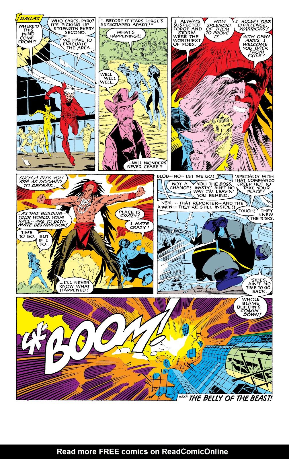 Read online X-Men Milestones: Fall of the Mutants comic -  Issue # TPB (Part 1) - 66