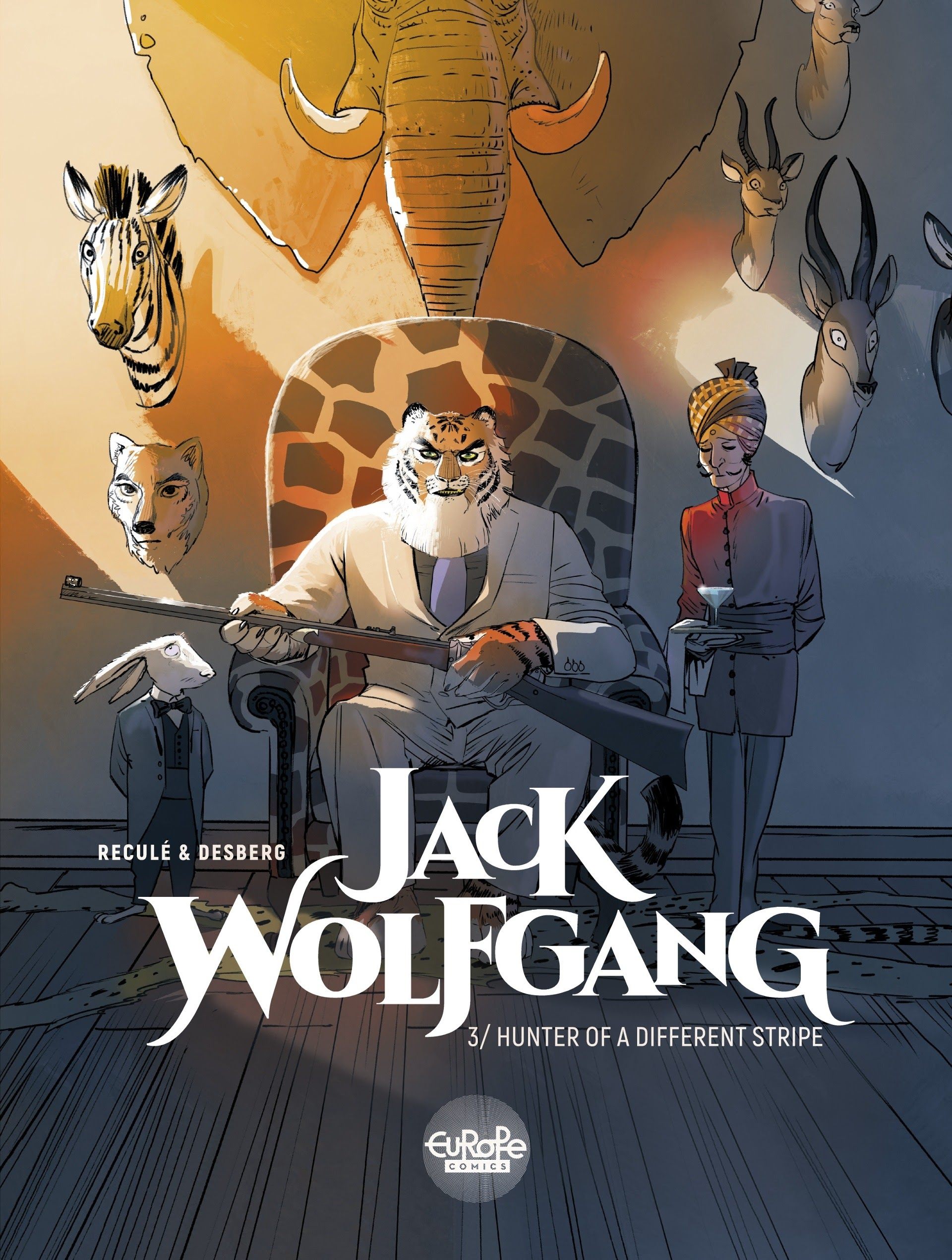 Read online Jack Wolfgang comic -  Issue #3 - 1