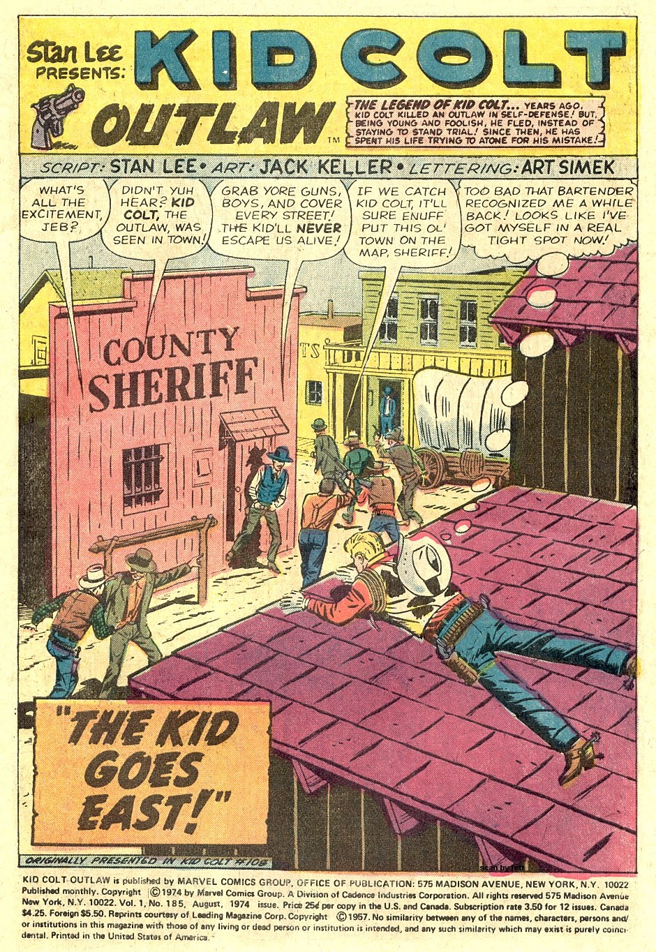 Kid Colt Outlaw issue 185 - Page 3