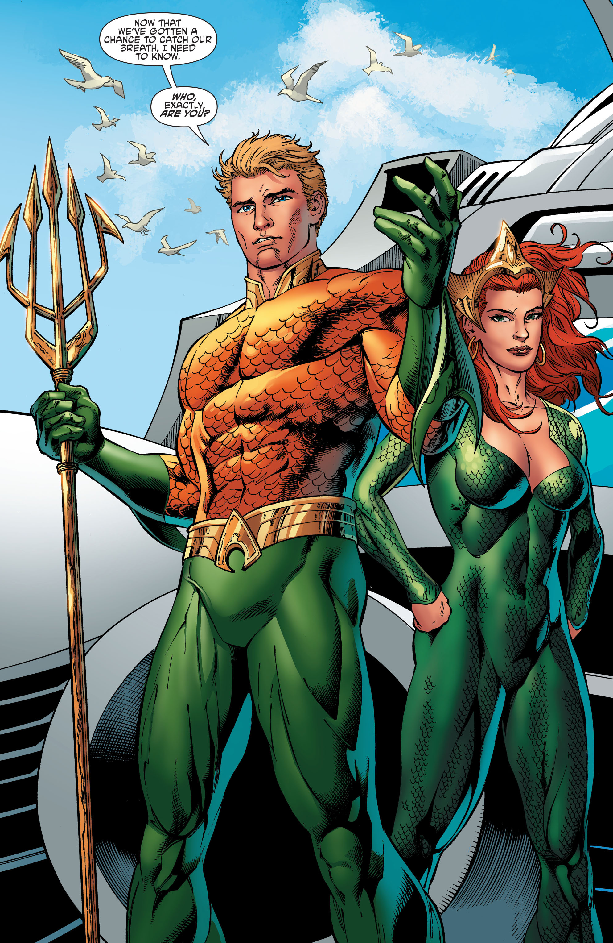 Read online Aquaman and the Others comic -  Issue #6 - 2