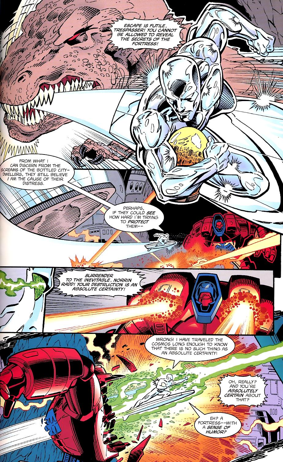 Read online Silver Surfer/Superman comic -  Issue # Full - 27