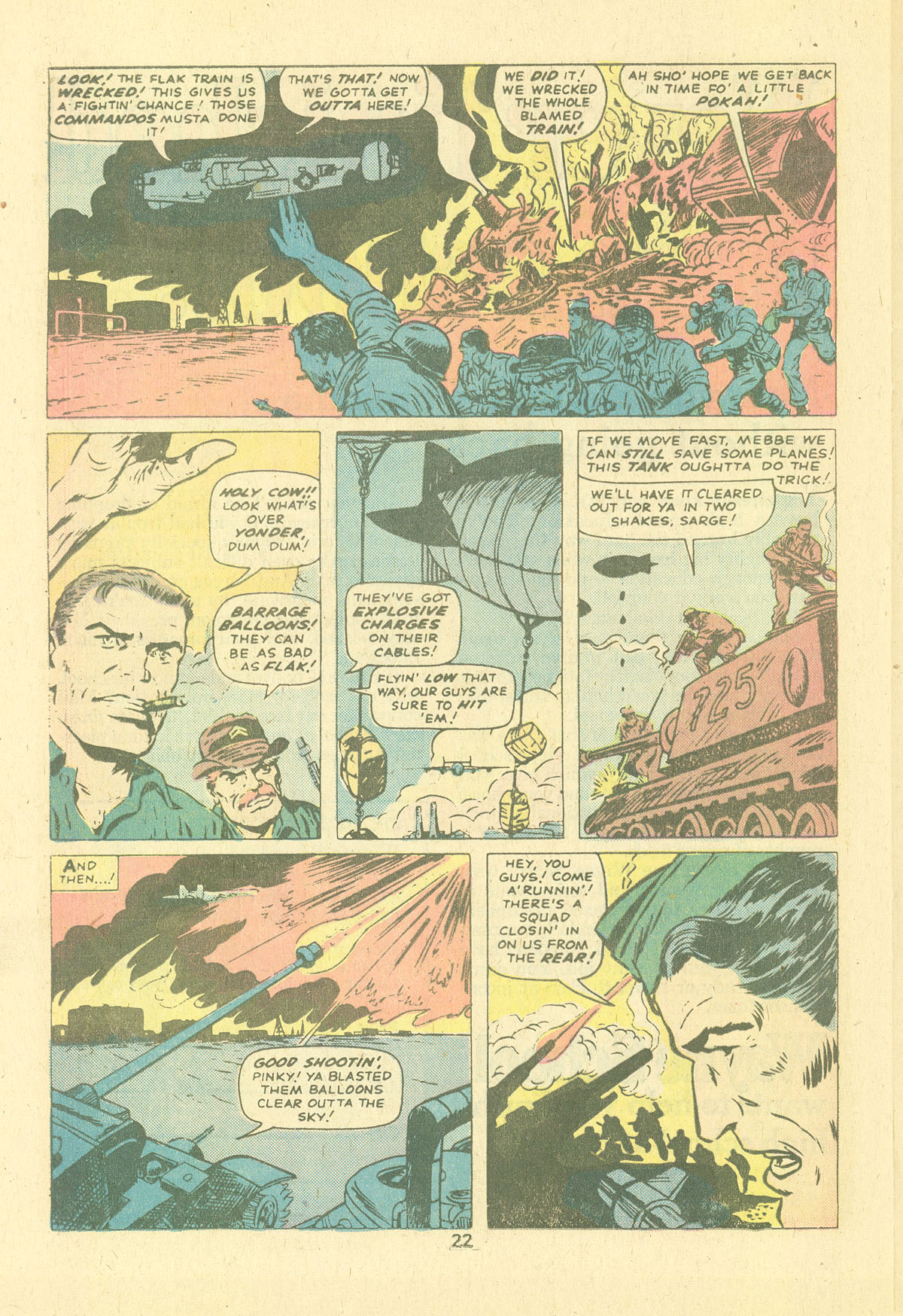 Read online Sgt. Fury comic -  Issue #124 - 24