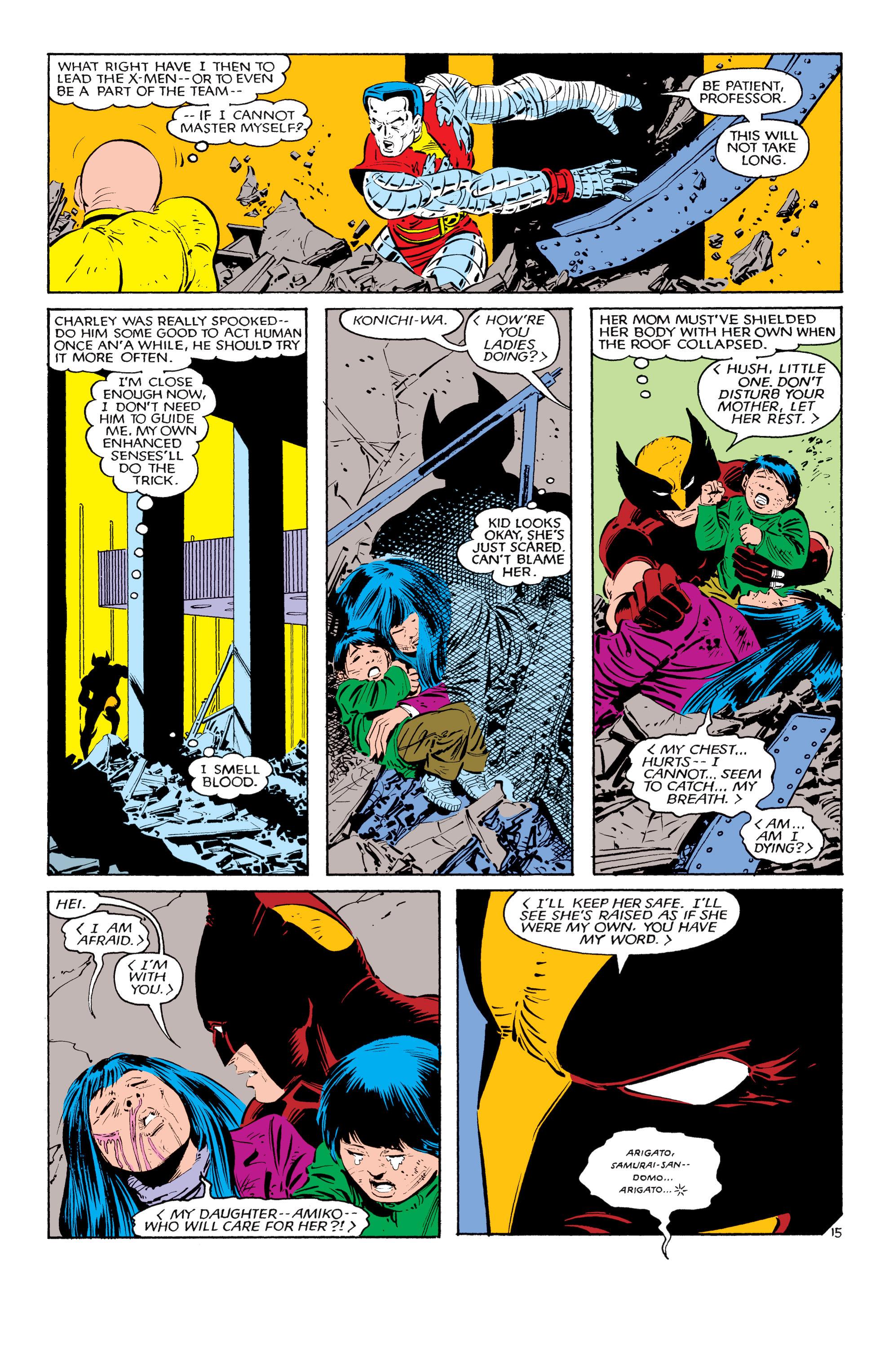 Read online Uncanny X-Men (1963) comic -  Issue #181 - 15