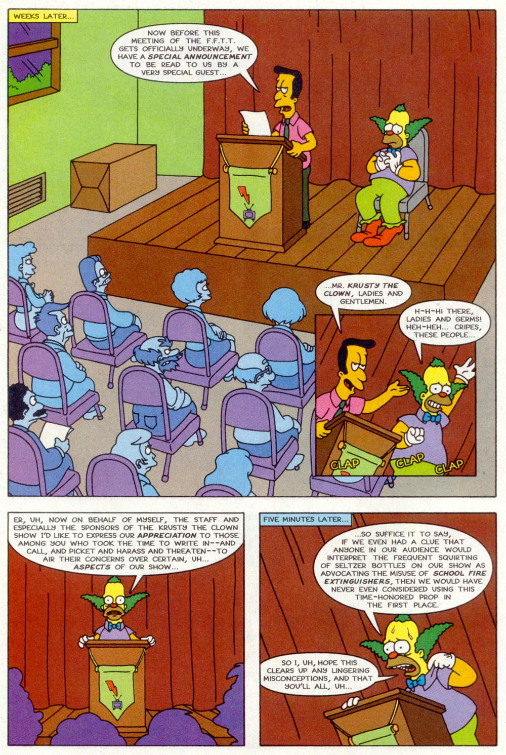 Read online Treehouse of Horror comic -  Issue #2 - 25