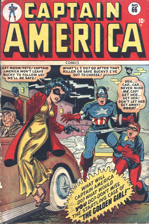 Captain America Comics 66 Page 1