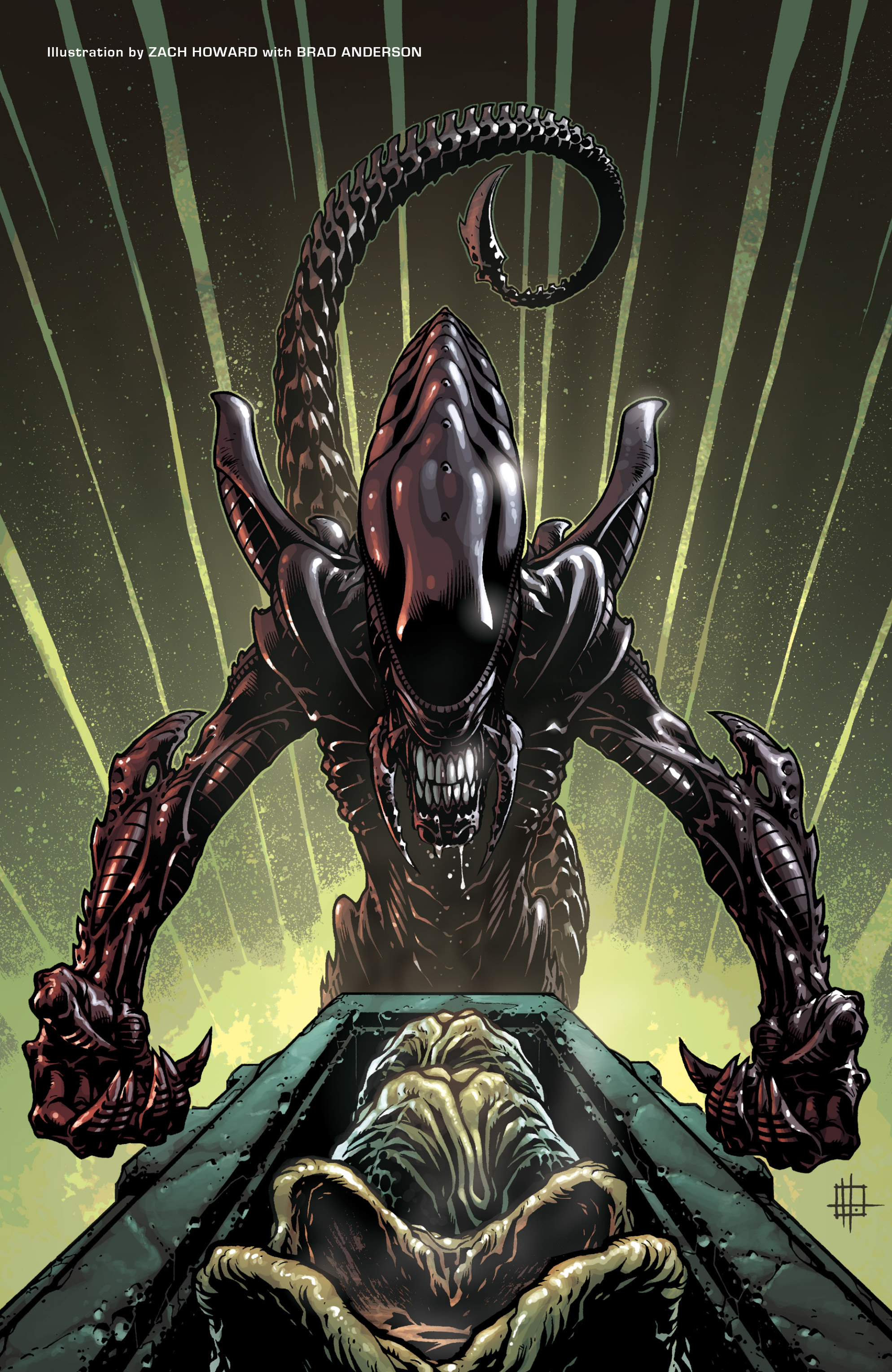 Read online Aliens (2009) comic -  Issue # TPB - 3