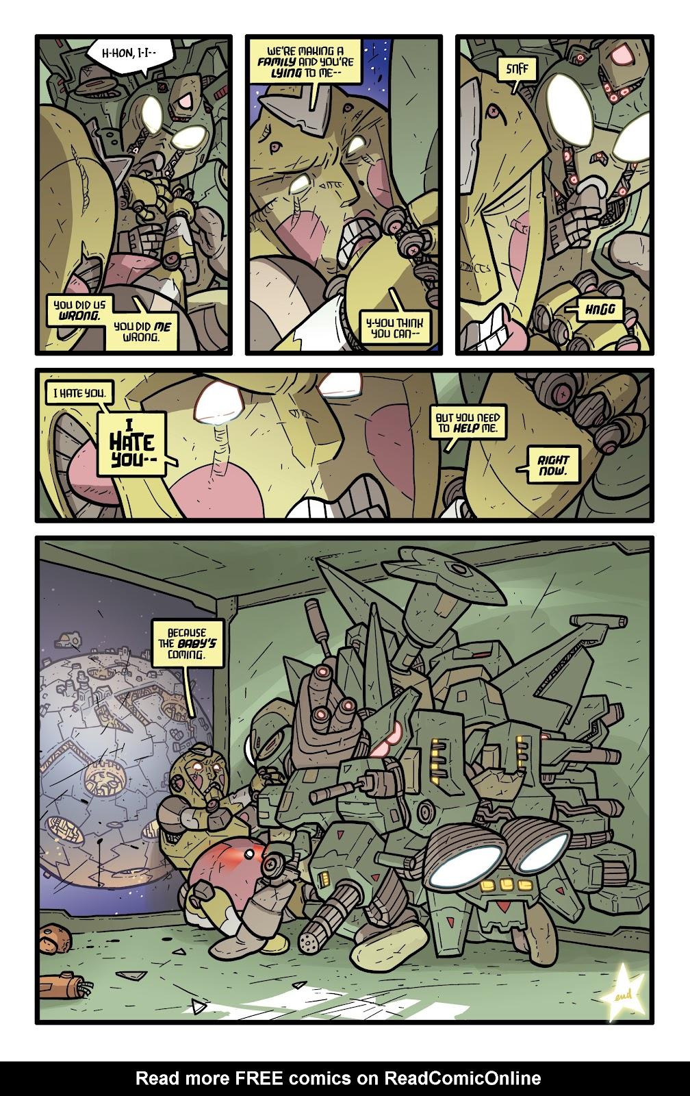 Read online Kaijumax: Season Four comic -  Issue #5 - 24
