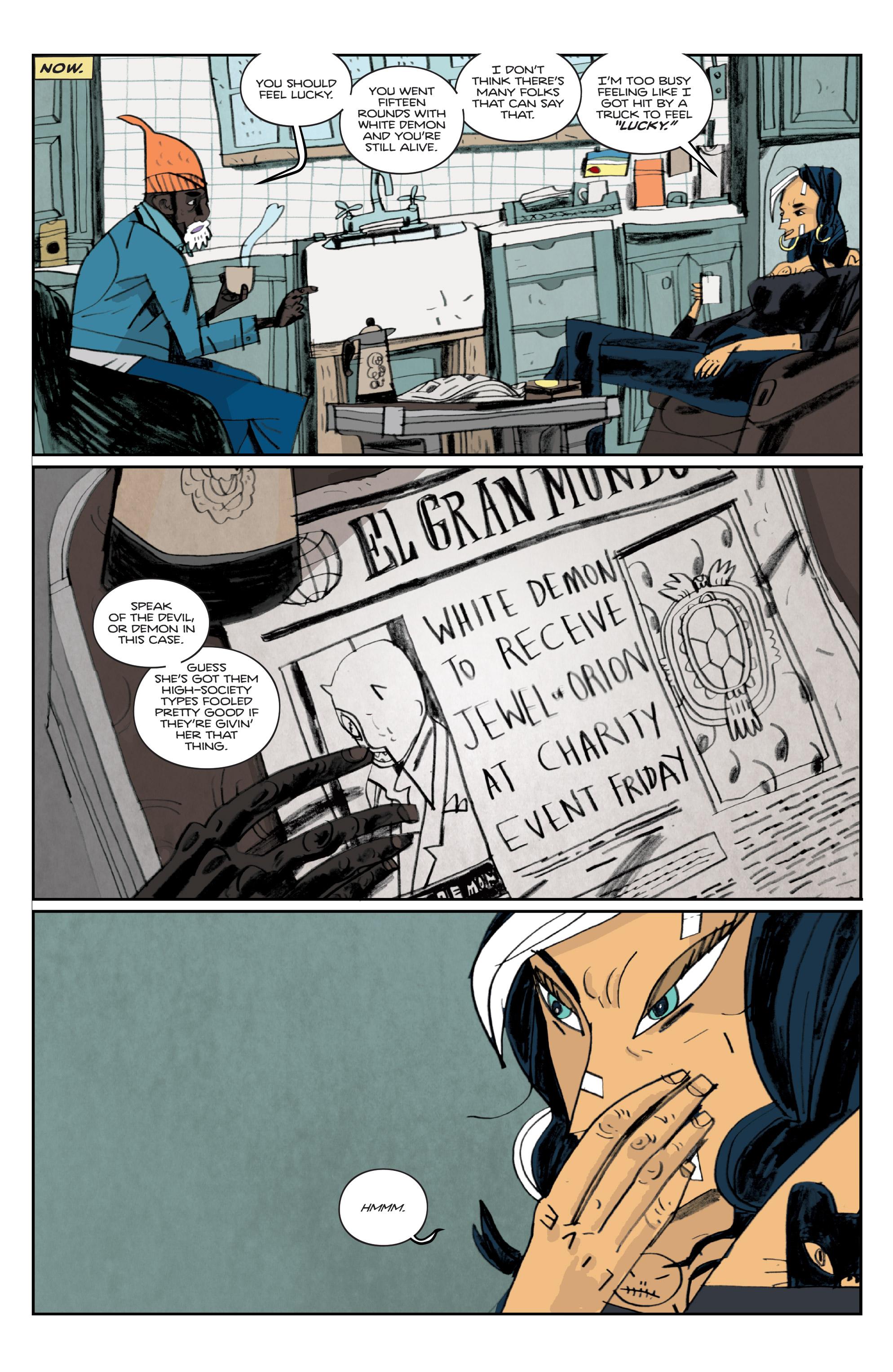 Read online Helena Crash comic -  Issue #3 - 16